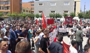 protesta prishtine