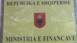 ministria e financave ALB