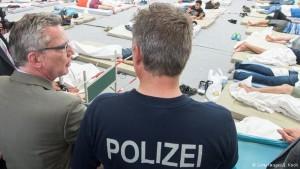 Ministri i brendshem gjermani refugjatet