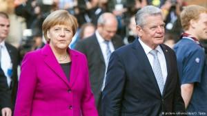 Merkel dhe Gauck