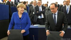 Merkel dhe Hollande