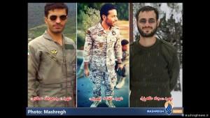 tre komandantet iranit