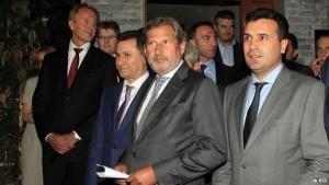 Hahn Gruevski Zaev