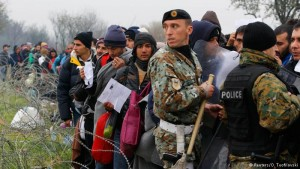 Maqedoni kufiri refugjatet