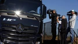 kamioni pa shofer