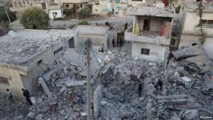 siria bombardimet