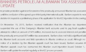 Bankers petrolium