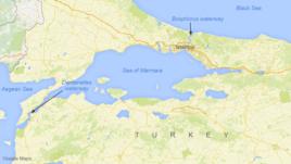 Dardanelet harta