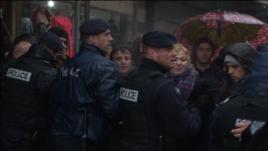 policia protesta gjakove