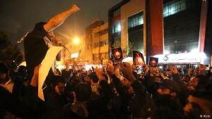 protesta teheran