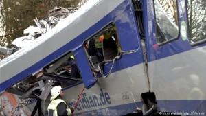 aksident treni gjermani