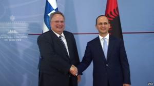 ministrat e jashtem grek dhe shq