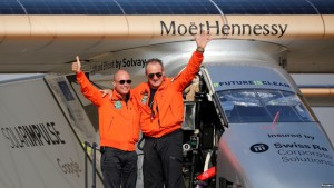 Solar Impulse2 pilotet