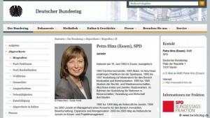 biografia deputetja gjermane