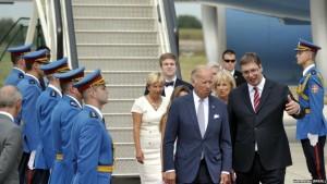Joe Biden+ Vucic