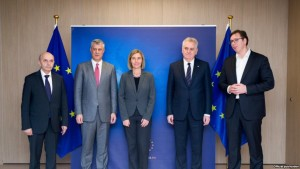 kosovo serbia Mogherini