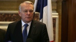 ministri i Jashtëm francez Jean-Marc Ayrault