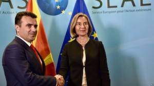 Zaev Mogherini