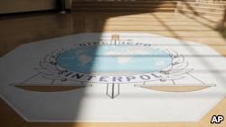Vue du hall d'entrŽe du sige d'Interpol, ˆ Lyon