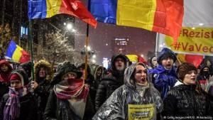 Protesta Rumani