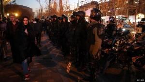 protesta iran