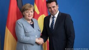 Zaev Merkel