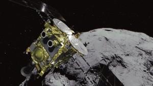 Sonda japoneze prane asteroidi