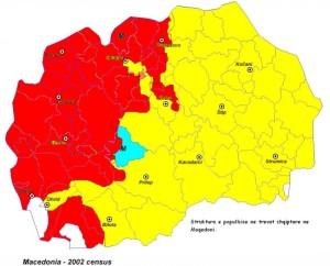 Maqedonia etnike harta