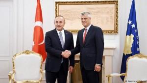 Cavusoglu Thaci