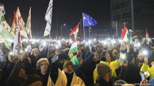 Protesta Budapest