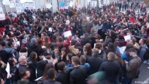 Protesta Tirane