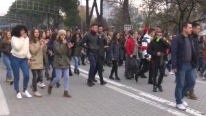protesta studentet