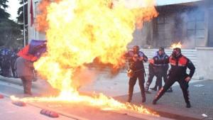 protesta molotov