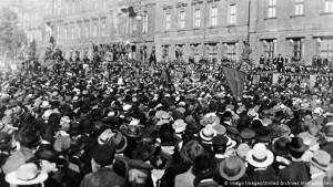 Protesta Berlin kunder Versajes