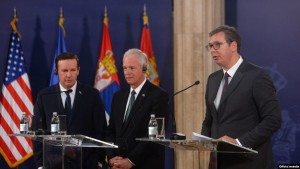 Senatoret amerikan dhe Vucic