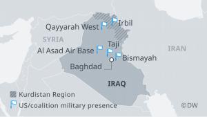 bazat e SHBA Irak