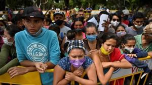 Emigrantët venezuelianë në Kolumbi, 12 maj 2020.