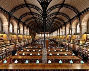 Massimo-Listri-Biblioteca-di-Sainte-Genevieve-Parigi-Francia-