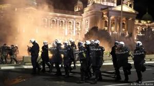 Serbi protesta
