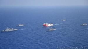 Anija turke studimore Oruc Reis për kërkime gazi në Mesdhe, 10 gusht 2020