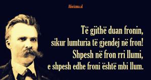 Friedrich Nietzsche froni
