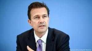 Zëdhënësi i qeverisë, Steffen Seibert