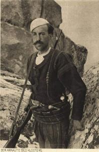 Der Arnaute des Klosters - Shqiptari tek Manastiri i Prilepit
