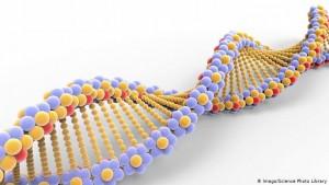 Pamje simbolike e molekulës së ADN-së