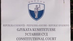 gjykata kushtetuese Kosoves