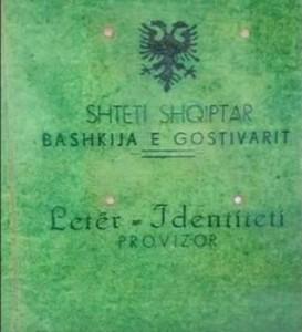 leter identiteti Gostivar