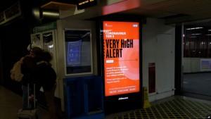very high alert Londer 18 dhjetor
