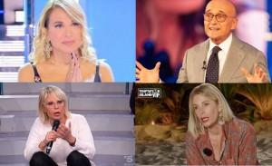 Barbara D ' Urso, Maria De Filippi, Alfonso Signorini, Alessia Marcuzzi