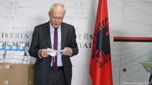 Peter Zingraf, Ambasadori gjerman në Tiranë