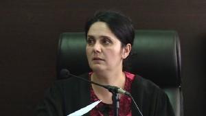 Gjyqtarja e Gjykatës së Krujës Enkelejda Hoxha